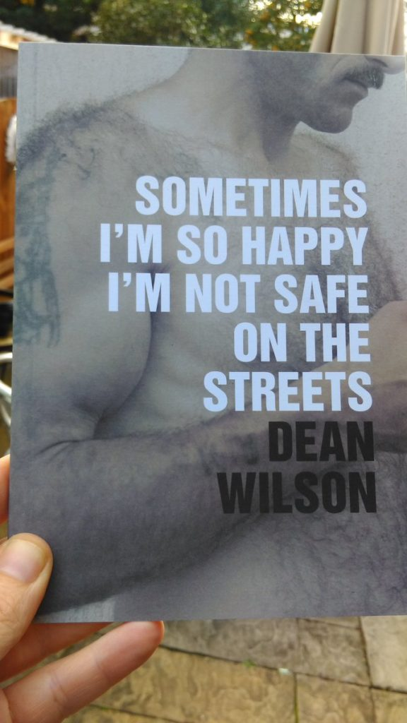 Sometimes I'm So Happy I'm Not Safe On The Streets. Published by Wrecking Ball Press.
